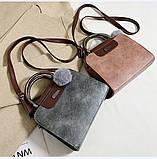 Женская черная деловая сумка, фото 2