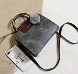 Женская черная деловая сумка, фото 3