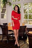 """Красное рженское платье с открытой спиной """"Обольстительница"""""""