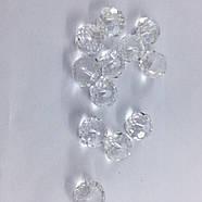 Бусина рондель серебряная (10 шт) 6мм , фото 6