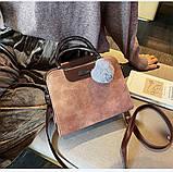 Женская черная деловая сумка, фото 8