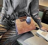 Женская черная деловая сумка, фото 9