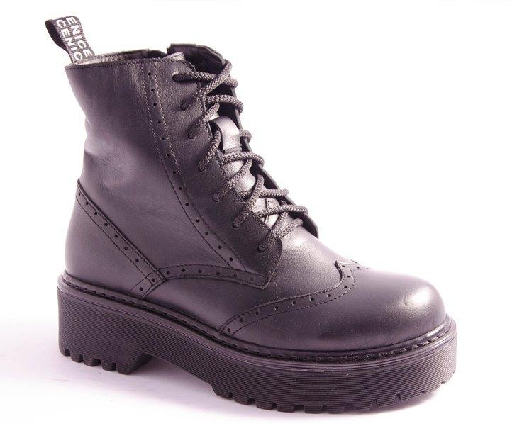 Ботинки женские черные Miluchi 3722