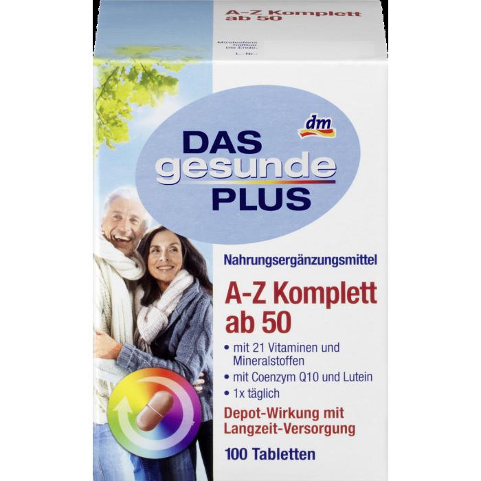 Das Gesunde Plus Mivolis A-Z Komplett ab 50 (100шт)