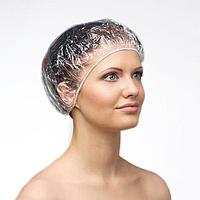 Шапочка одноразовая полиэтилен для окрашивания волос. 100 шт.