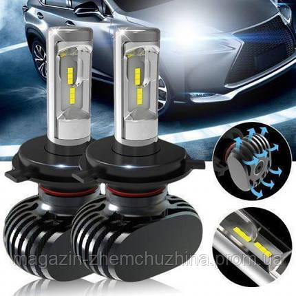Автомобильные LED лампы S1 H7, фото 2