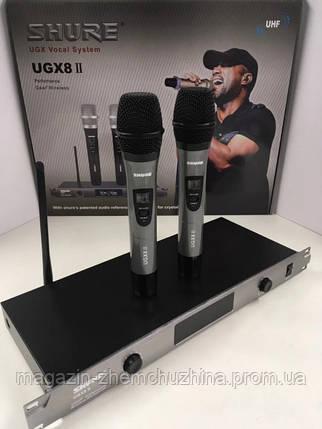 Беспроводные вокальные микрофоны Shure BLX/UGX8, фото 2