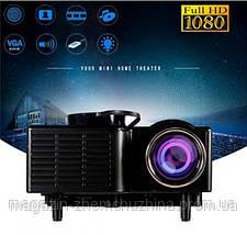 Портативный проектор UC28 WiFi, фото 2