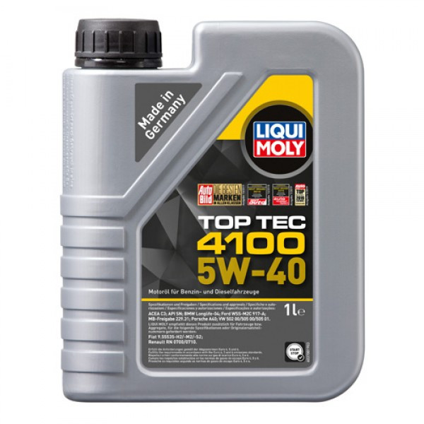 Синтетичне моторне масло - Top Tec 4100 SAE 5W-40 1 л.