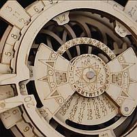 Деревянный 3D конструктор Robotime LK201 Вечный календарь, фото 3