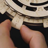 Деревянный 3D конструктор Robotime LK201 Вечный календарь, фото 4