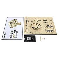 Деревянный 3D конструктор Robotime LK201 Вечный календарь, фото 6