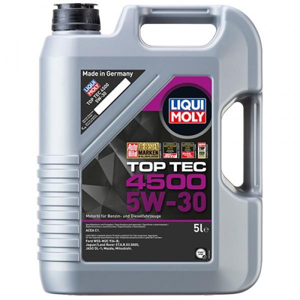 Синтетичне моторне масло - Top Tec 4500 5W-30 5 л.