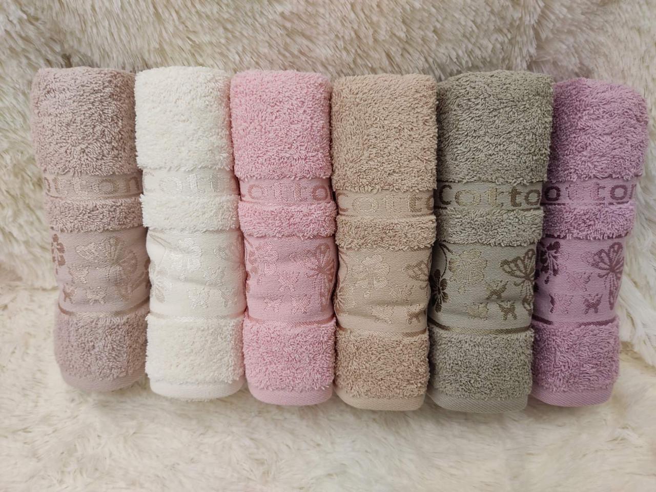 Махровое полотенце лицо Турция