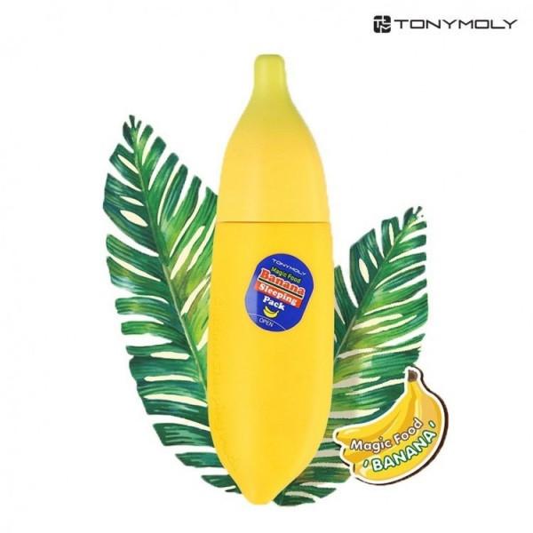 Банановая интенсивно восстанавливающая ночная маска Tony Moly Magic Food Banana Sleeping Pack, 85 мл
