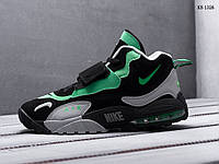 Мужские кроссовки Nike Sportswear Air Max Speed Turf (серо/зеленые) KS 1326