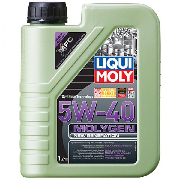 Синтетичне моторне масло - Molygen New Generation 5W-40 1 л.