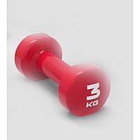 Гантель виниловая LivePro Studio Dumbbell (LP8076-3) Red 3 кг