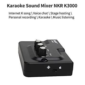 Міні-мікшер зовнішня звукова карта SSP K3000