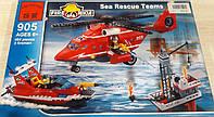 Конструктор Brick Enlighten Fire Rescue  905 Пожарная тревога, фото 1