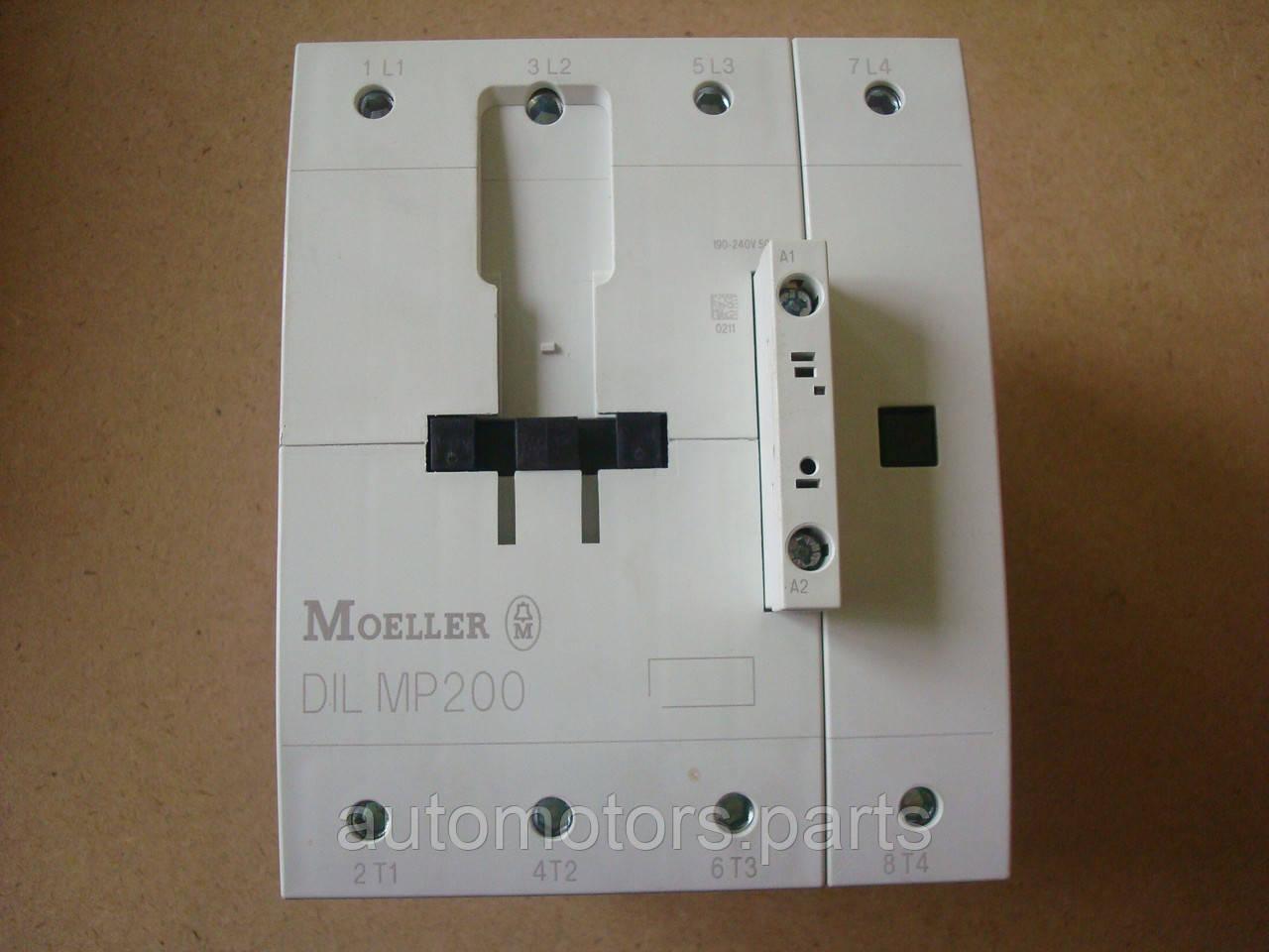 Контактор 4-полюсный DILMP200 (RAC240) Moeller