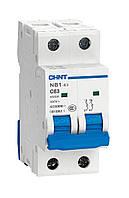 Автоматичний Вимикач CHINT NB1-63 2P 1A 6кА х-ка C (DB)