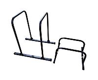 Набор паралетсы высокие (хайлетсы) 90 см высота + напольные брусья 35 см высота