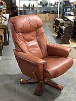 """Кожаное кресло для офиса из Германии «Морис"""""""