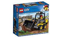 Конструктор LEGO Строительный погрузчик 88 деталей (60219)