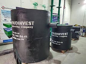 Сепаратор нафти 1-2 л/з, залізобетонний сепаратор нафтопродуктів з коалесцентним фільтром і шлам-камерою