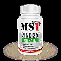 Цинк цитрат MST Zinc Citrate 25 (100 капс.)