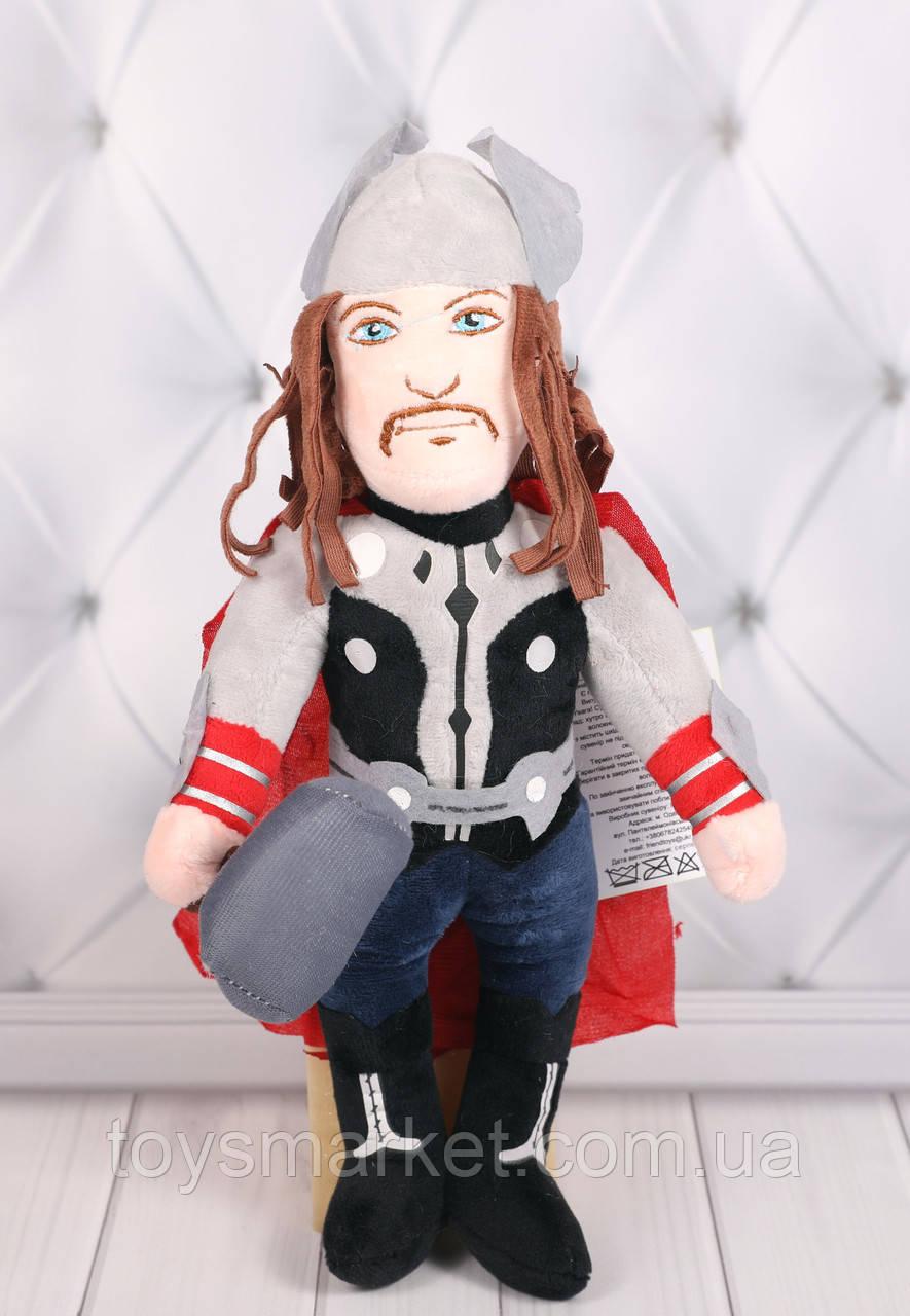 Мягкая игрушка Тор, плюшевая игрушка Тор Марвел, Thor, игрушки Marvel