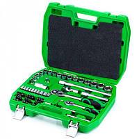 Набор инструмента 72 единицы Intertool ET-6072SP Набір інструментів Інтертул 6072SP 72 одиниці