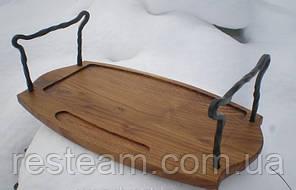 Поднос для шашлыка дерево