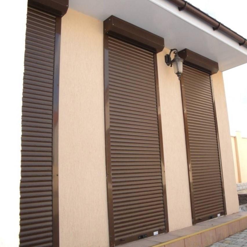 Роллеты защитные для дверей 800х2250