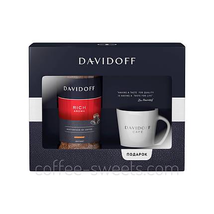 Набор Davidoff Rich Aroma 100гр + чашка, фото 2
