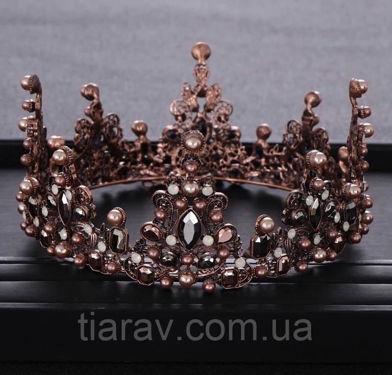 Корона круглая на голову, корона на голову, митра