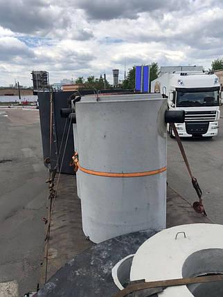 8 л/с, Железобетонный коалесцентный сепаратор нефтепродуктов с байпасом, фото 2
