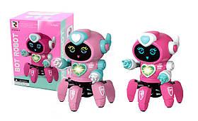 Робот для девочек, ходит, свет, звук