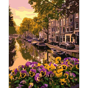 """Картина по номерам """"Амстердам"""" 40*50"""