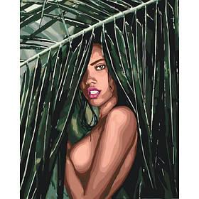 "Картина по номерам ""Соблазнительная амазонка"" 40*50"