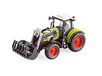 Фрикционный трактор с ковшом , свет, звук, фото 2