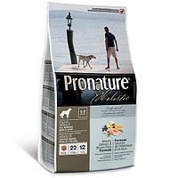 Сухой корм для собак всех пород Pronature Holistic Adult Atlantic Salmon&Brown Rice (13.6 кг.)