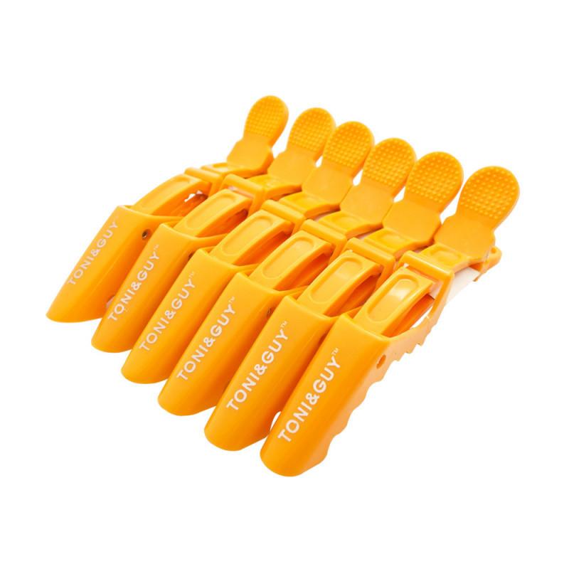 Фурман Зажим пластик для волос Крокодил  10*2.3 см за 1 шт  (уп 6 шт)