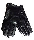 Мужские перчатки кожа лайка, подкладка флис (размеры 11-13), фото 2