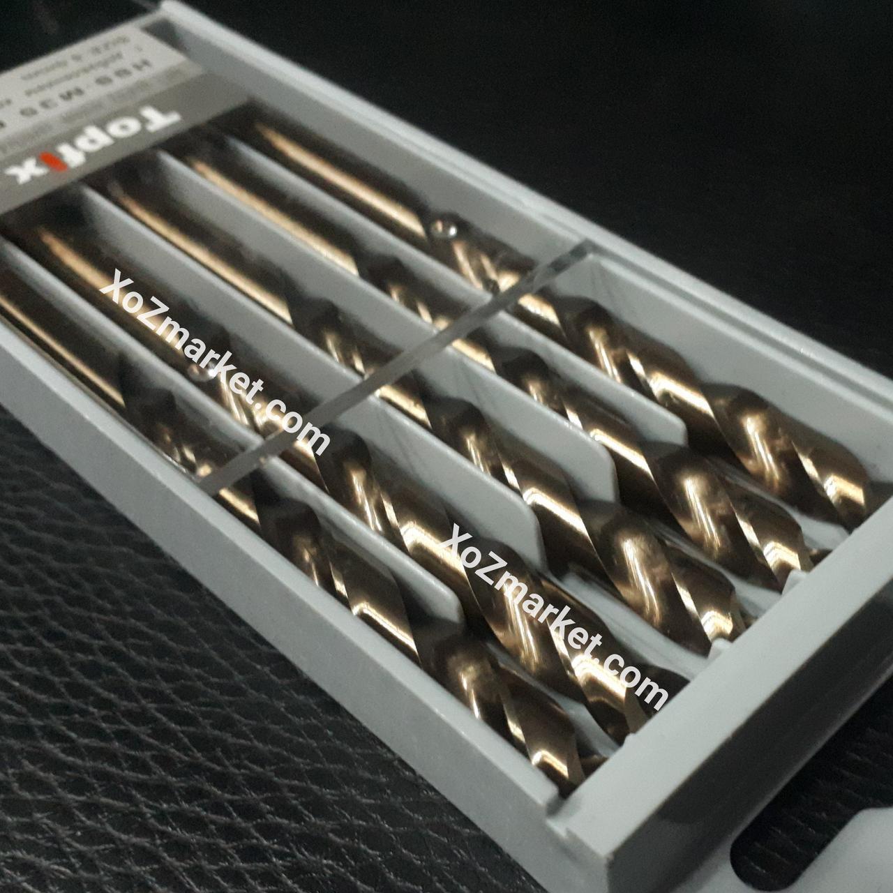 Сверло кобальтовое по металлу Со 5% (Свердло кобальтове) 1 мм