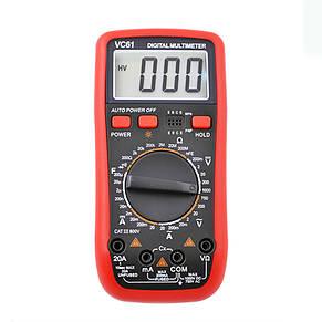 Мультиметр VС61, фото 2