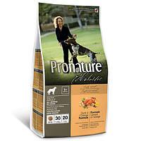Сухой корм без злаков утка/апельсин для собак всех пород Pronature Holistic Adult Duck&Orange (2.72 кг.)