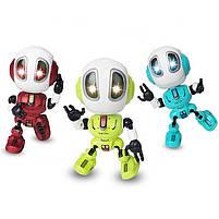 Металлический индуктивный робот, свет, звук, запись, фото 2