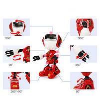 Металлический индуктивный робот, свет, звук, запись, фото 5
